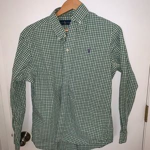 Polo Men's long sleeve shirt.